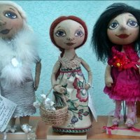 На выставке кукол :: Нина Корешкова