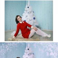 под елкой) (до и после) :: Veronika G