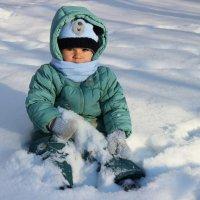 Маленький снеговичок :-) :: Alexander N