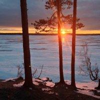 Трое, перед закатом. :: Сергей Адигамов