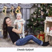 Маленькая Катя и ее мама Анастасия :: Зинаида Кукреш