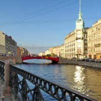 Река мойка. Красный мост. :: Владимир Гилясев