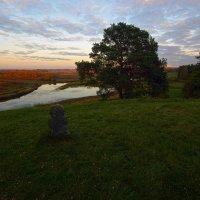 Вид на реку Сороть с Савкиной Горки :: Александр Кафтанов