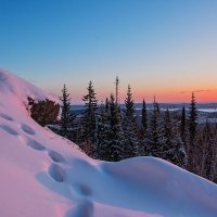 Розовый снег :: vladimir Bormotov