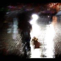 шанхай. дождь. :: Николай Семёнов