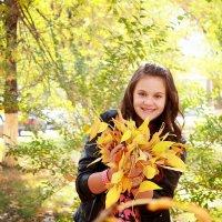 осень листья :: Елена Сметанина