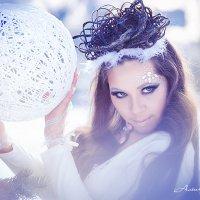 Снежная фотосессия :: Алёна Вихарева