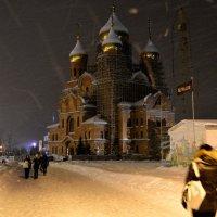 Метель в Архангельске :: Елена Третьякова