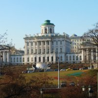 легендарный дом Пашкова в Москве :: Galina Leskova
