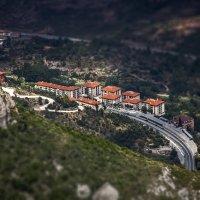 Вид с горы Монсеррат(высота горы 1236 метров, протяженность 10 км, а ширина 5 км.)...Испания :: Александр Вивчарик