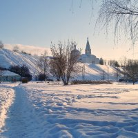зимнее утро  в провинции... :: Галина Филоросс