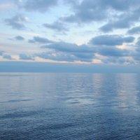 Небо и мре вечером :: Любовь Пашина