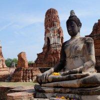 Тайланд. Храмы Аюттайи. XII век. :: Rafael
