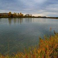 Река в октябре. :: Владимир Михайлович Дадочкин