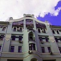 Дом в Москве :: Лариса Корженевская