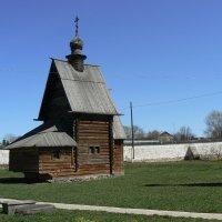 Деревянная Георгиевская церковь :: Сергей Цветков