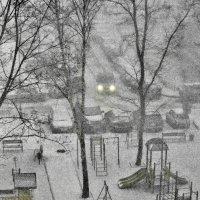снежит... :: Moscow.Salnikov Сальников Сергей Георгиевич