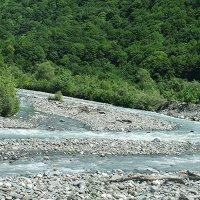 Горная река на пути в с. Каманы :: Елена Павлова (Смолова)