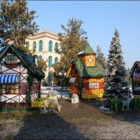 Праздничная деревушка. :: Anna Gornostayeva
