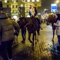 На лошадке :: Алексей Окунеев