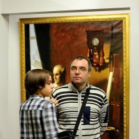 Три мужчины. :: Leonid Volodko