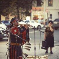 Индейцы в городе ... :: Алексадр Мякшин