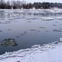 Река стынет :: Александр Скамо
