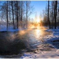 Нынче солнце в азарте и сыплет слои перламутра. Но в апреле – не в марте! –нетронутый утренний снег. :: Valentina Lujbimova [lotos 5]