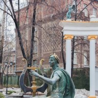 Фонтан Аполлон в саду Аквариум :: Дмитрий Сушкин
