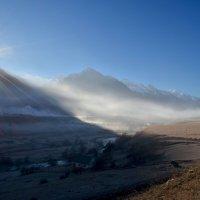 Утро в дымке :: Marina Timoveewa