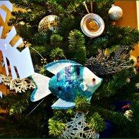 Голубая рыбка. :: Валерия Комова