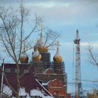 Архангельск, вид из окна... :: Елена Третьякова