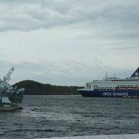 Осло. Памятник постоянным переменам :: Елена Смолова