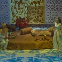 Сцена из спектакля Алладин :: Владимир Максимов