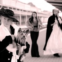 Дама с собачкой :: Татьяна Беляева