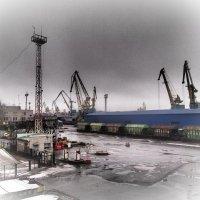 портовый пейзаж. :: сергей лебедев