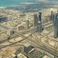 Дубай со смотровой площадки Бурдж-Халифа :: Elena Izotova