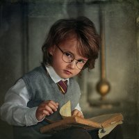 Гарри Поттер в детстве :: Наташа Родионова