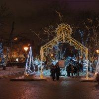 Москва в ожидании праздника 4 :: Galina