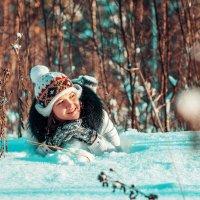 В морозный солнечный день!!!! :: Елена Семёнова