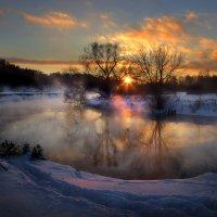 Закат уходящего декабря... :: Андрей Войцехов
