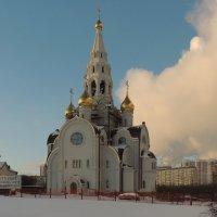 Церковь Иверской иконы Божией Матери. :: Александр Качалин