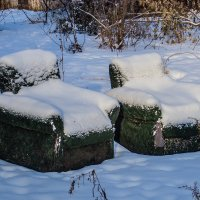 В ожидании деда мороза и снегурочки :: Марк Э