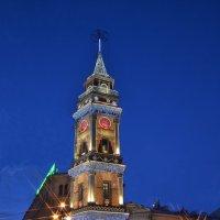 Праздничная башня городской думы :: Наталья Левина