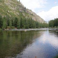 Река Кумир, Девичьи Плёсы .Усть-Канский район :: Виктор