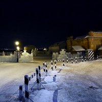 Омск.  Старый  город.  Новый  2013  год. :: Геннадий С.