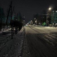 Зима, вечер, мороз. :: Sergey Serebrykov