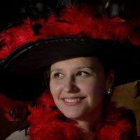 Дама в шляпе :: Валерий Иванов