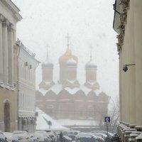 Рыбный переулок в снегу :: Алла Захарова