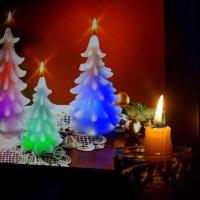 Новогодние свечи :: Натали Акшинцева